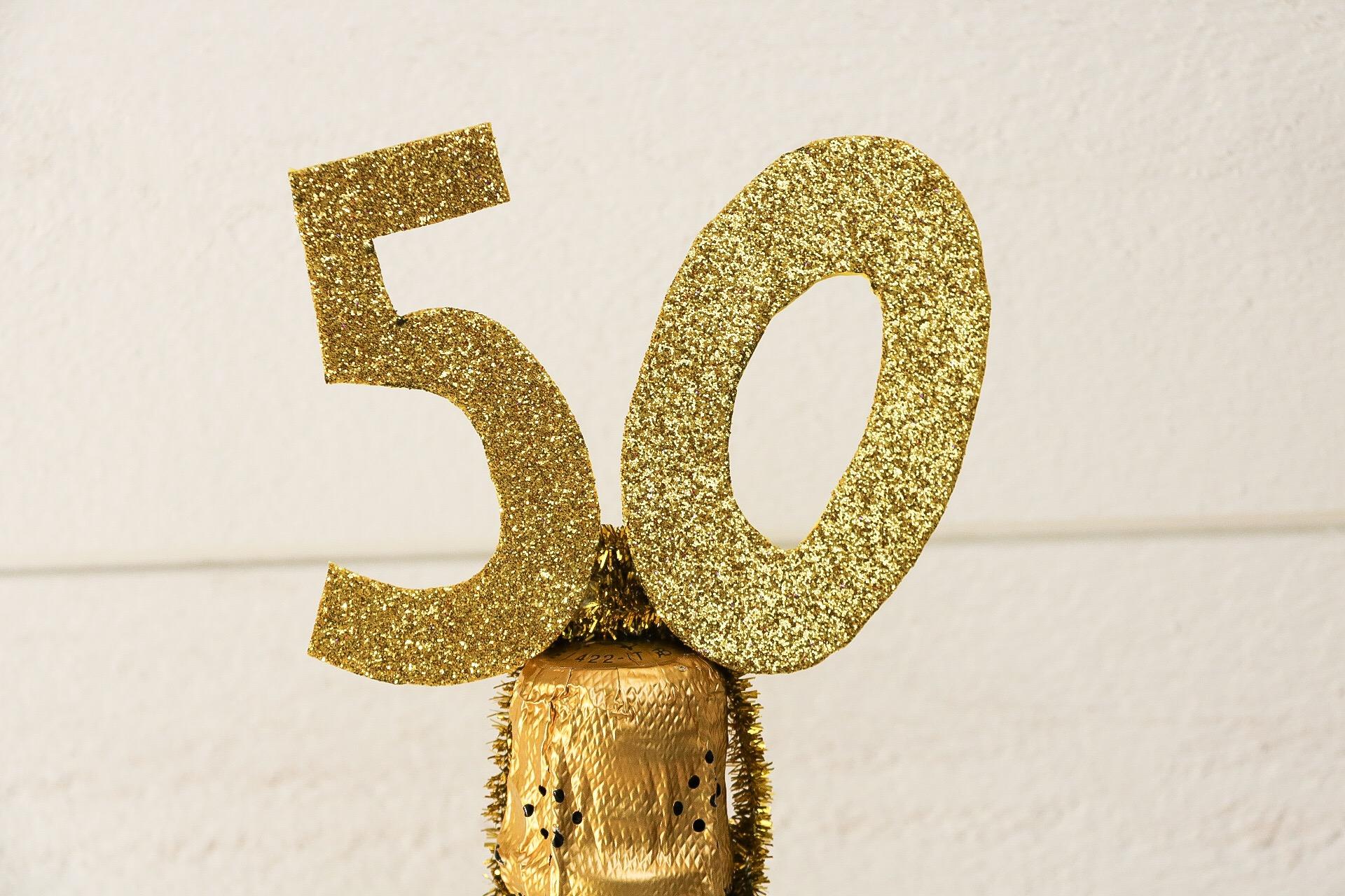 tips på 50 års present